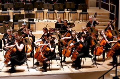 String Orchestra-cello-section-at-city-halls