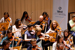 West Strings Orchestra with RSNO